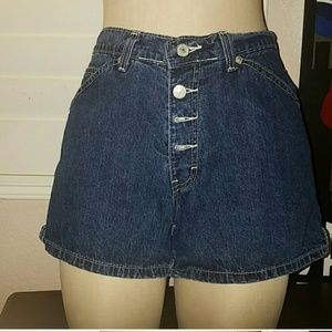 Vintage Jordache button fly shorts high waisted 6